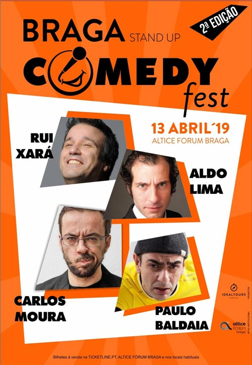 2º Braga Stand Up Comedy Fest